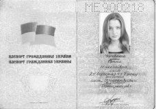 check the validity of Ukrainian woman's passport