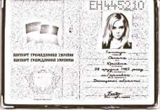 verify that this is a valid Ukrainian passport and her age is correct