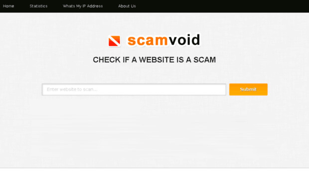 Site scam checker