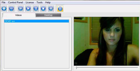 fake webcam girl
