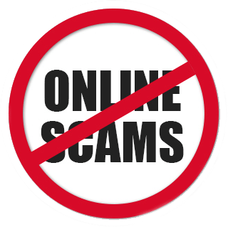 What is an internet scam