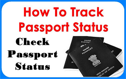 to check passport status