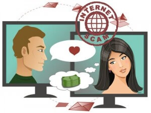 Internet love scams