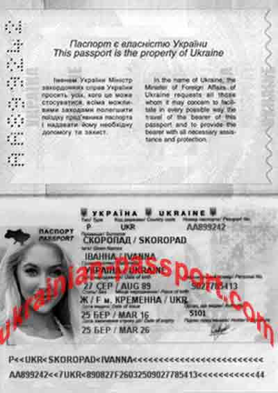 i would like you to check and see if her passport is real or fake