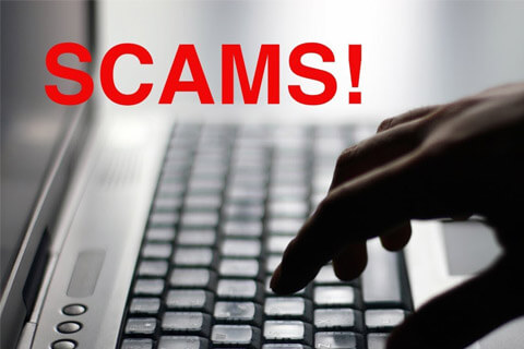 Top 5 Internet Fraud and Scams