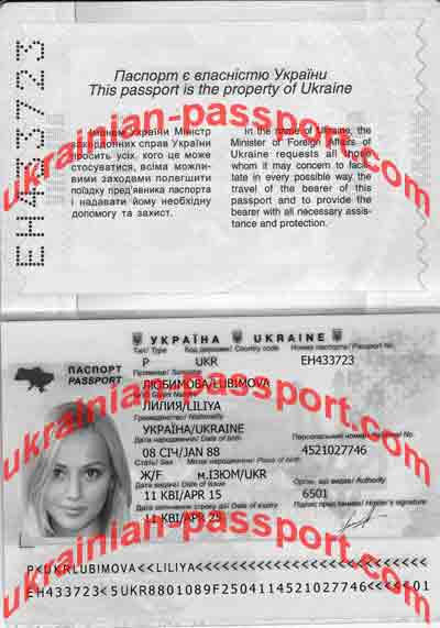 check if ukrainian passport valid