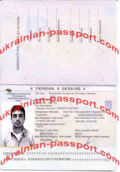 fake temporary residence permit ukraine