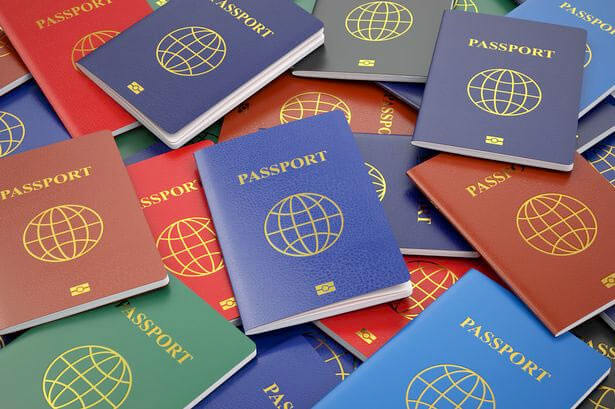 Ukrainian passport took 44 place