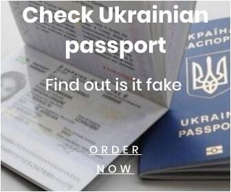 order validation of ukrainian passport