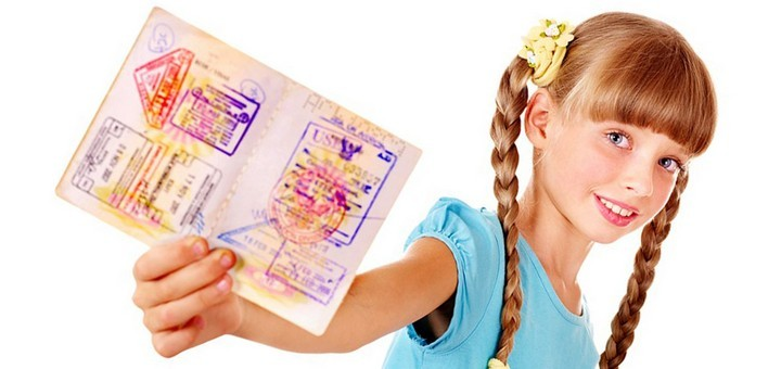 Ukrainian biometric passports for children