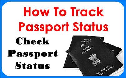 to check passport status