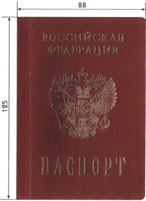 How does the Russian internal passport look like