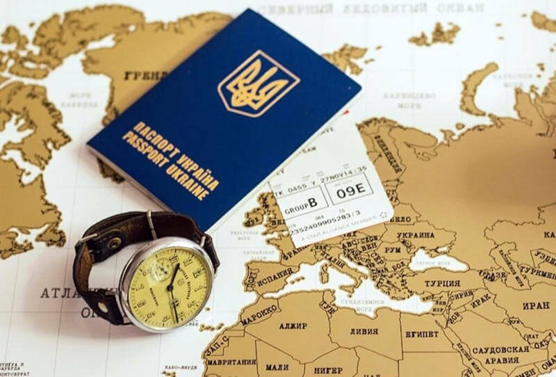 In Kiev it's possible to make a Ukrainian passport in one day