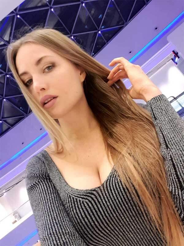 Alena Shaposhnikova, Ukrainian model